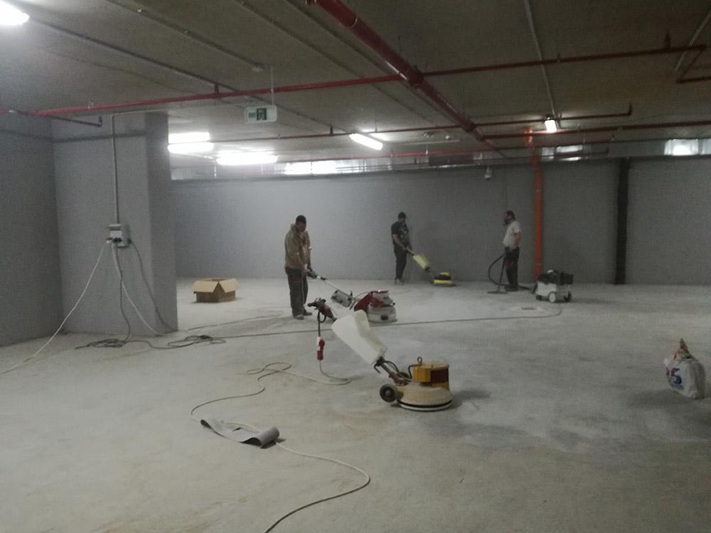 Шлайфане на бетон